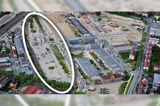 Der Projektentwickler Bouwfonds plant Gewerbeflächen und 100 neuen Wohnungen auf dem Güterbahngelände