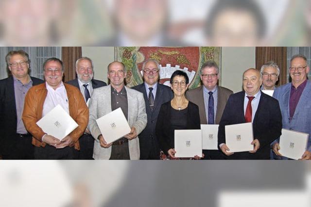 Vogtsburg zeichnet langjährige Lokalpolitiker aus