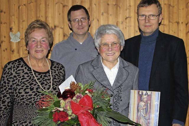 Der Kirchenchor feiert Jubiläum