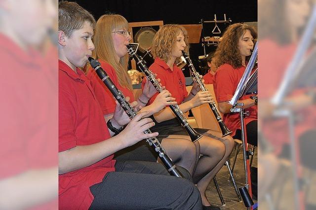 Hertens Musiker beweisen Bandbreite