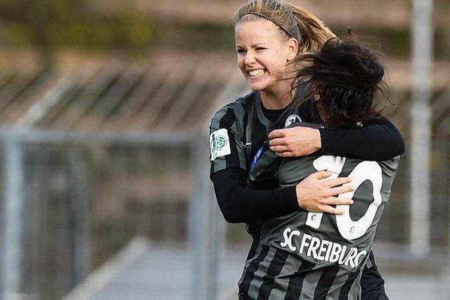 Spektakuläre Aufholjagd der SC-Freiburg-Spielerinnen