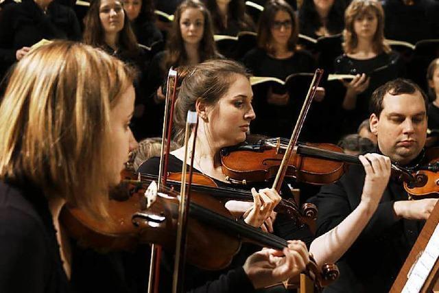 Das Lahrer Max-Planck-Gymnasium führt Bachs Weihnachtsoratorium auf
