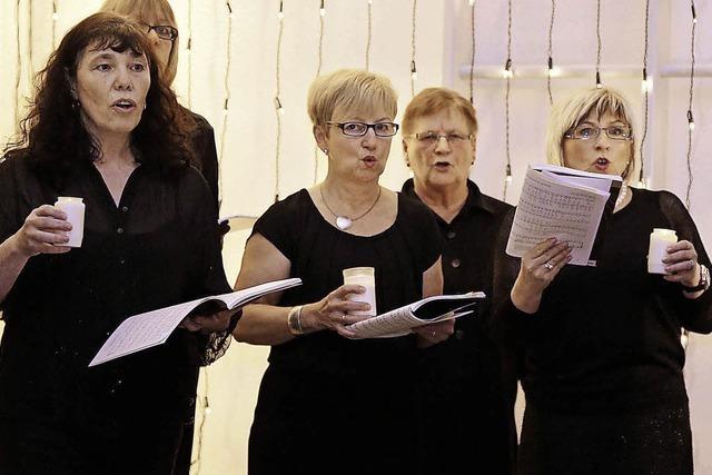 Zuhörer werden zu Sängern