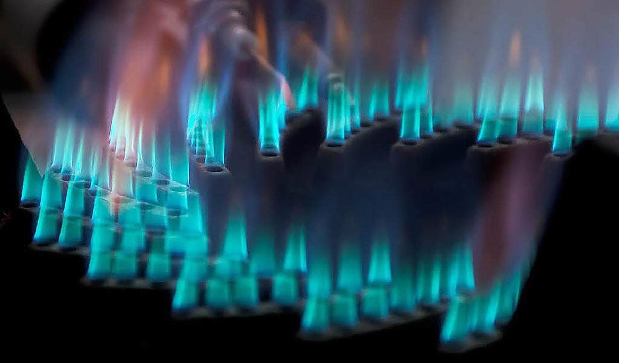 Das Gas, das die Haushalte von Staufen... aber zunächst weiterhin die Badenova.  | Foto: Alexander Huber