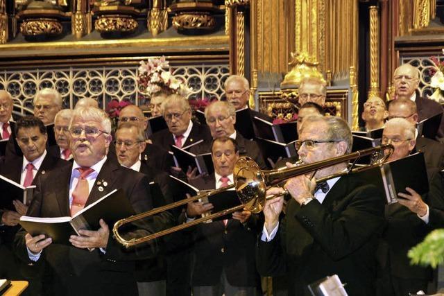 Die Bergweihnacht füllt das Münster und begeistert die Zuhörer