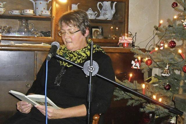 Zechenwihler Hotzenhaus als Stall von Bethlehem