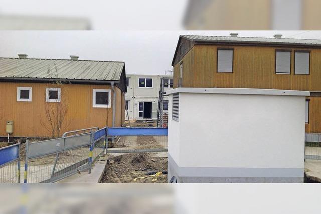 Flüchtlingsheim ist bald fertig und wird im Januar bezogen