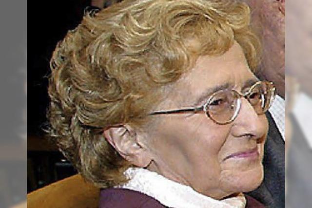 Elisabeth Heck ist tot - Trauer um beliebte Offenburgerin