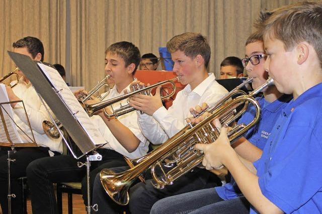 Nachwuchsmusiker lassen aufhorchen
