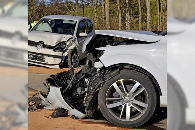 Fünf Verletzte, hoher Schaden