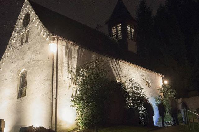 Leuchtendes Gotteshaus