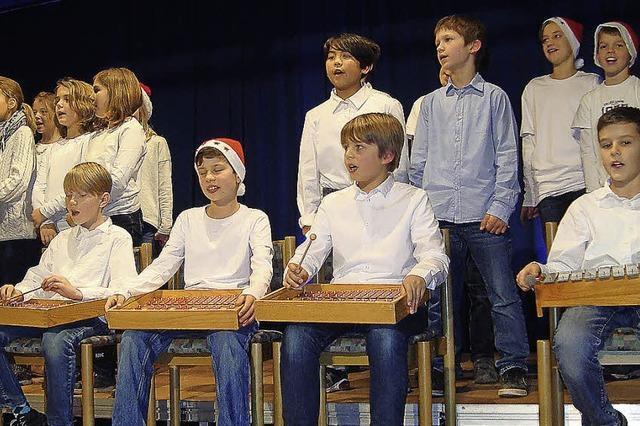Freude an Weihnachten und am Musizieren