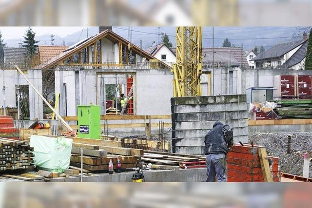 Bauarbeiten kommen voran