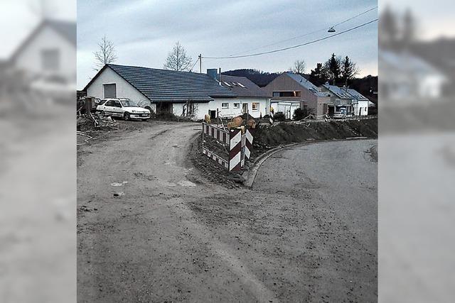 Straße Im Brühl in Sölden wird ertüchtigt