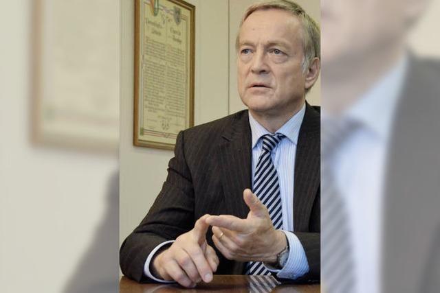 32 Jahre Bürgermeister von Gundelfingen - Reinhard Bentler blickt zurück