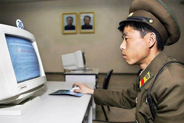 Haben Hacker Nordkorea angegriffen?