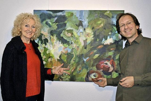 Birgit Murjahn und Marc Ballhaus zeigen ihre Werke