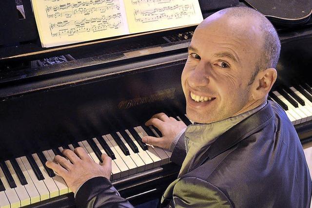 Georgi Mundrov spielt Werke von Scarlatti, Brahms und Chopin