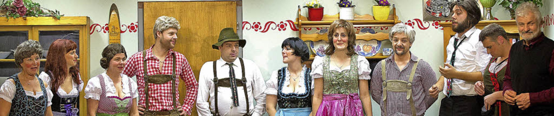 Sie sorgten für Begeisterung: Die Scha...rator und Theaterurgestein Oskar Hogg.  | Foto: Wolfgang Scheu