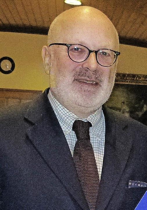 Winfried Höhmann ist Kreisvorsitzender...it Jahren enormen Zulauf verzeichnet.   | Foto: Aribert Rüssel