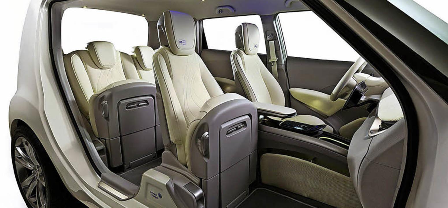 Auch Sitze bieten ein beachtliches Sparpotential in Sachen Gewicht.   | Foto: Johnson Controls, Audi