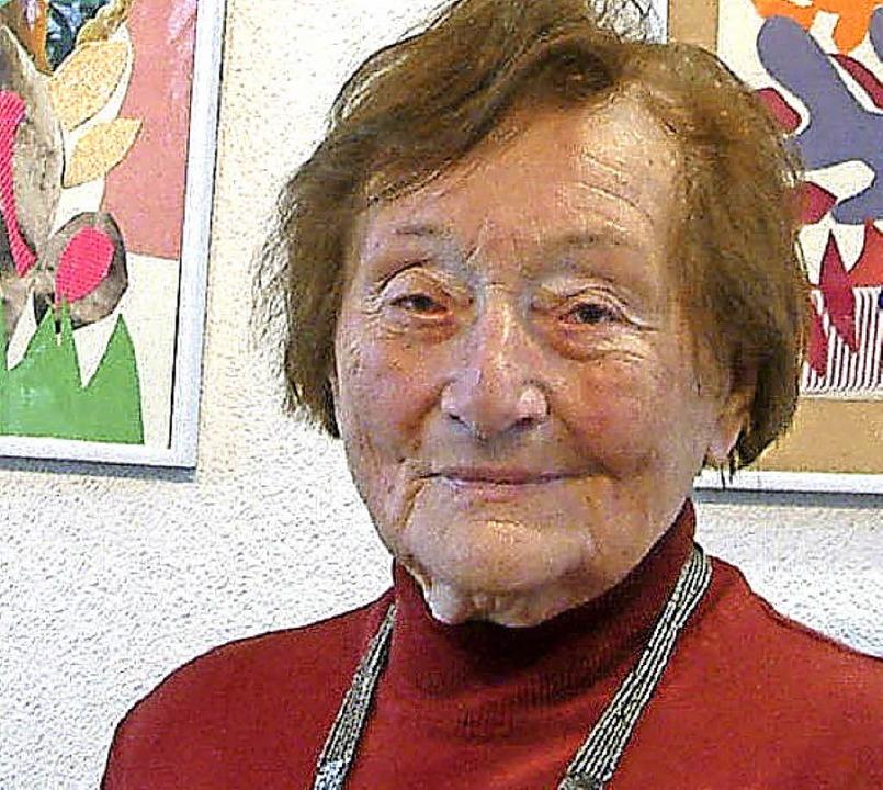 Elisabeth Römer  | Foto: Roswitha Frey
