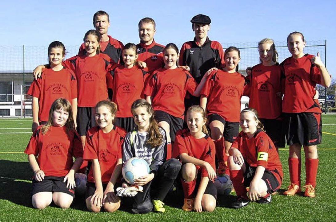 Die Damen-Juniorinnen Buggingen sind Vize-Herbstmeister.     Foto: Ruh