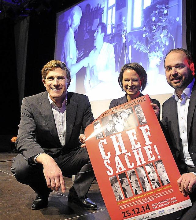 Freuen sich über eine gelungene Premie... Susanne Schmidt und Alexander Dupps.     Foto: wolfgang künstle