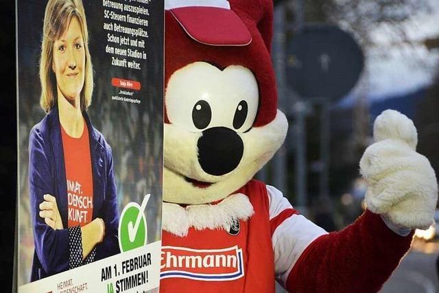 Wahlkampf zum SC-Stadion bekommt keinen Zuschuss