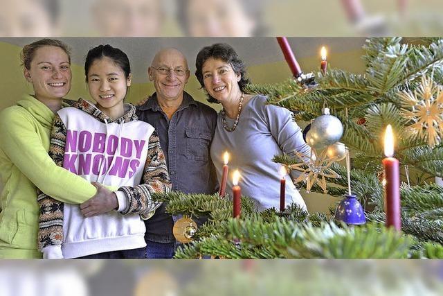Xinyis erstes Weihnachten