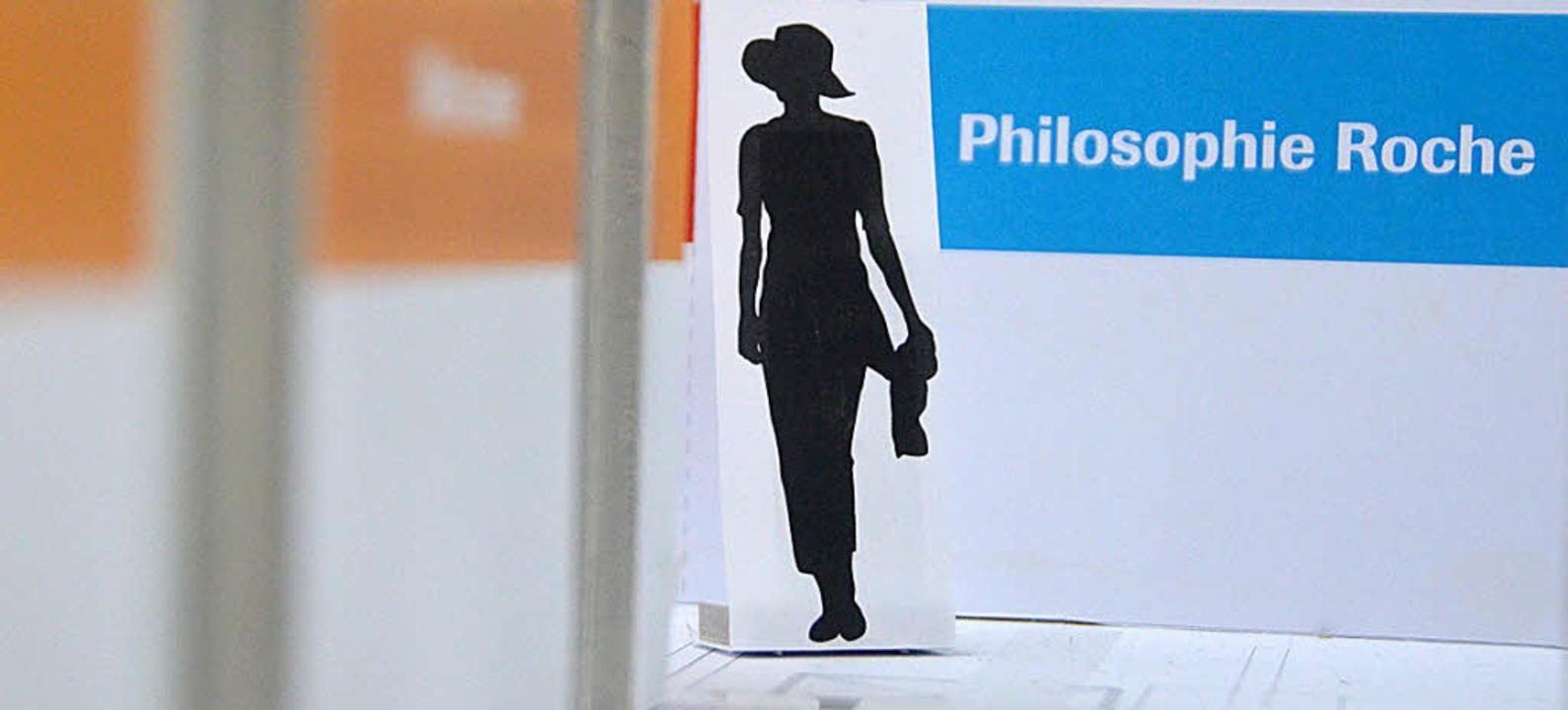 Roche möchte Besuchern auch ihre Philosophie nahe bringen.  | Foto: Ralf H. Dorweiler