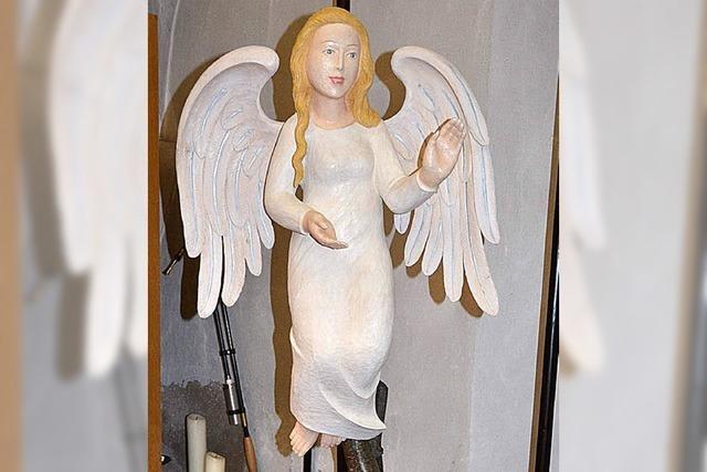 Neuer Engel in St. Georg