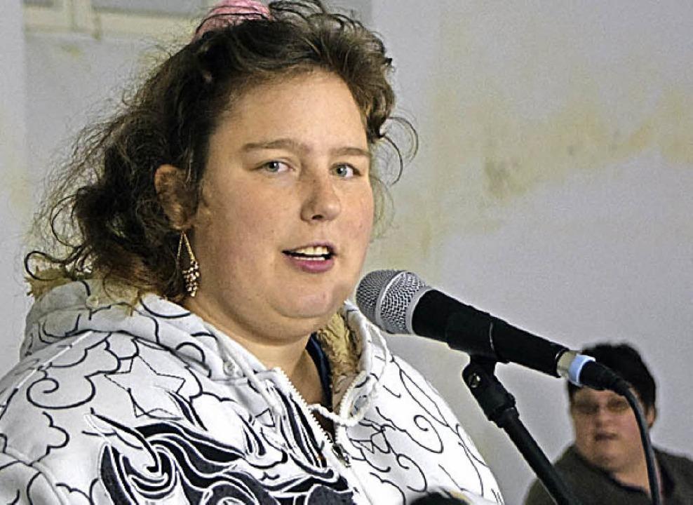 Sängerin Jasmin Kant    Foto: Sarah Nöltner