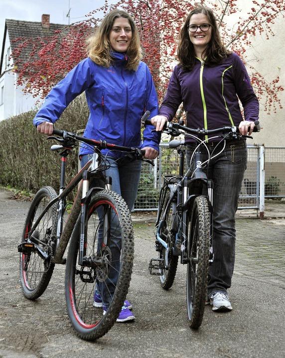 Anna Woywodt (links) und Sarah Moosmann   | Foto: thomas kunz