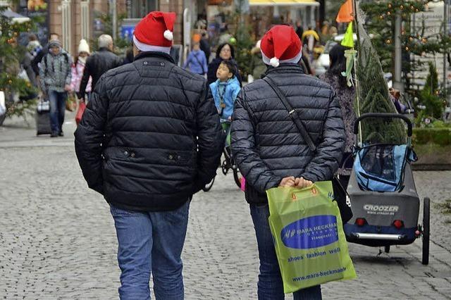 Spätstart ins Weihnachtsgeschäft