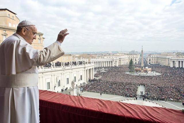 Papst bittet um Frieden