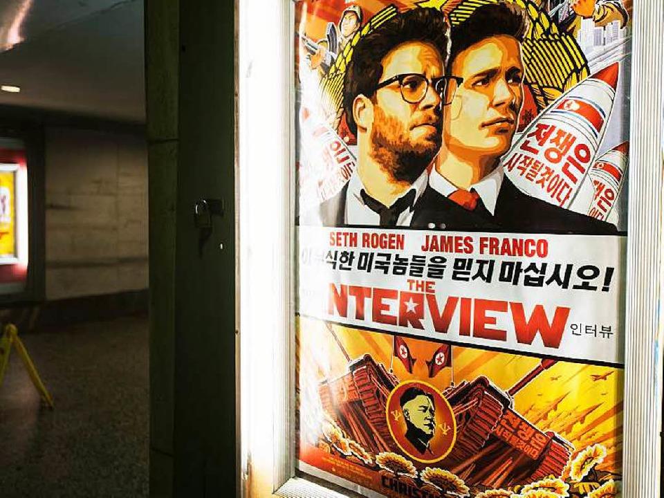 Sony wollte den Film zurückziehen.  | Foto: AFP