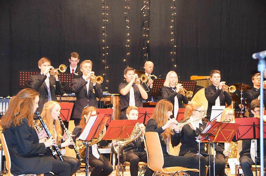 Die Trompeten bei der Bläserjugend  im Einsatz  | Foto: Sylvia-Karina Jahn