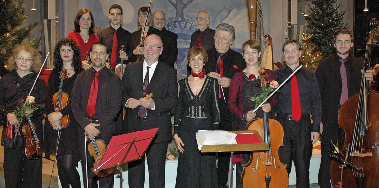 Das Kammerorchester Musica antiqua Bas...eß die Feiertage festlich ausklingen.     Foto: Ounas-Kräusel