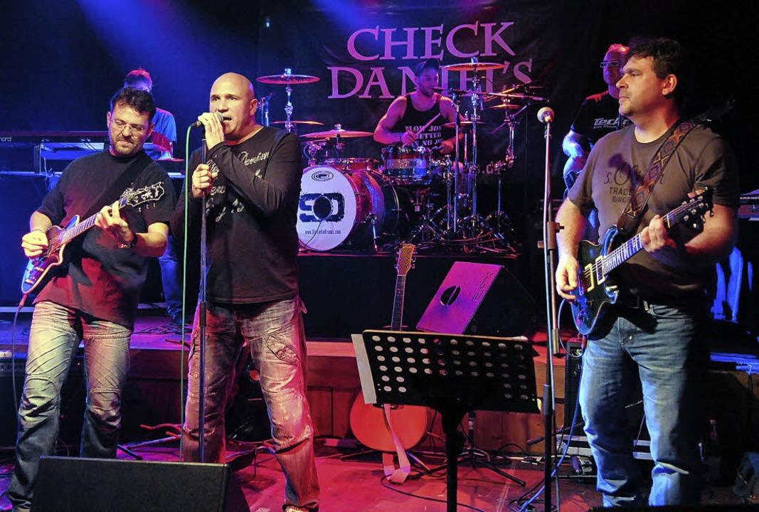 Die Musiker von Check Daniels haben in Sulz regelmäßig ein Heimspiel.     Foto: wolfgang künstle