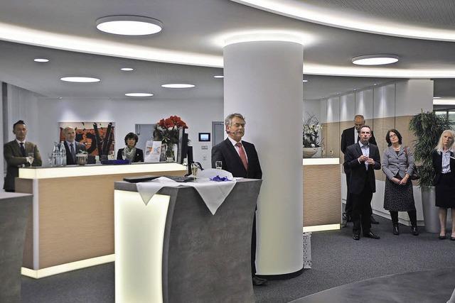 Volksbank weiht Kunden-Center ein
