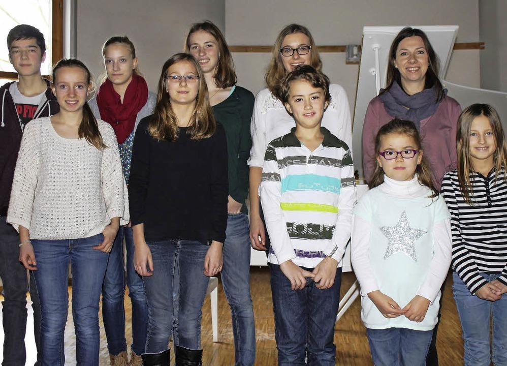 Vorspiel der Klavierschüler der Klasse...gräflerland im Bürgerhaus Schliengen.     Foto: Privat