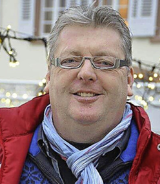 Roland Zimmermann, Präsident Kiwanis Club Neuenburg Markgräflerland  | Foto: Sigrid Umiger