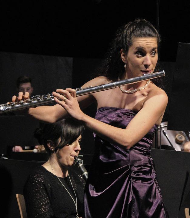 Starke Auftritte großartiger Talente p...Body-Percussion der Mädels kam gut an.  | Foto: Sabine Model