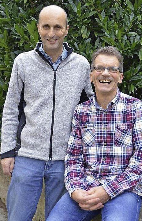 Armin Imgraben (links) und Herbert Hebek  | Foto: Sigrid Umiger