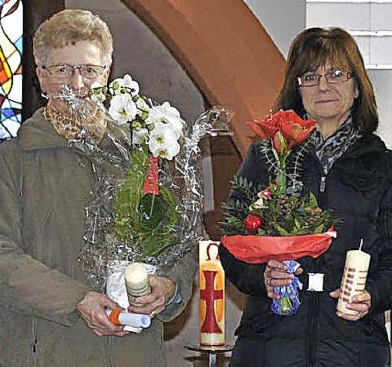 Hilda Meier, Marita Rein    Foto: Privat