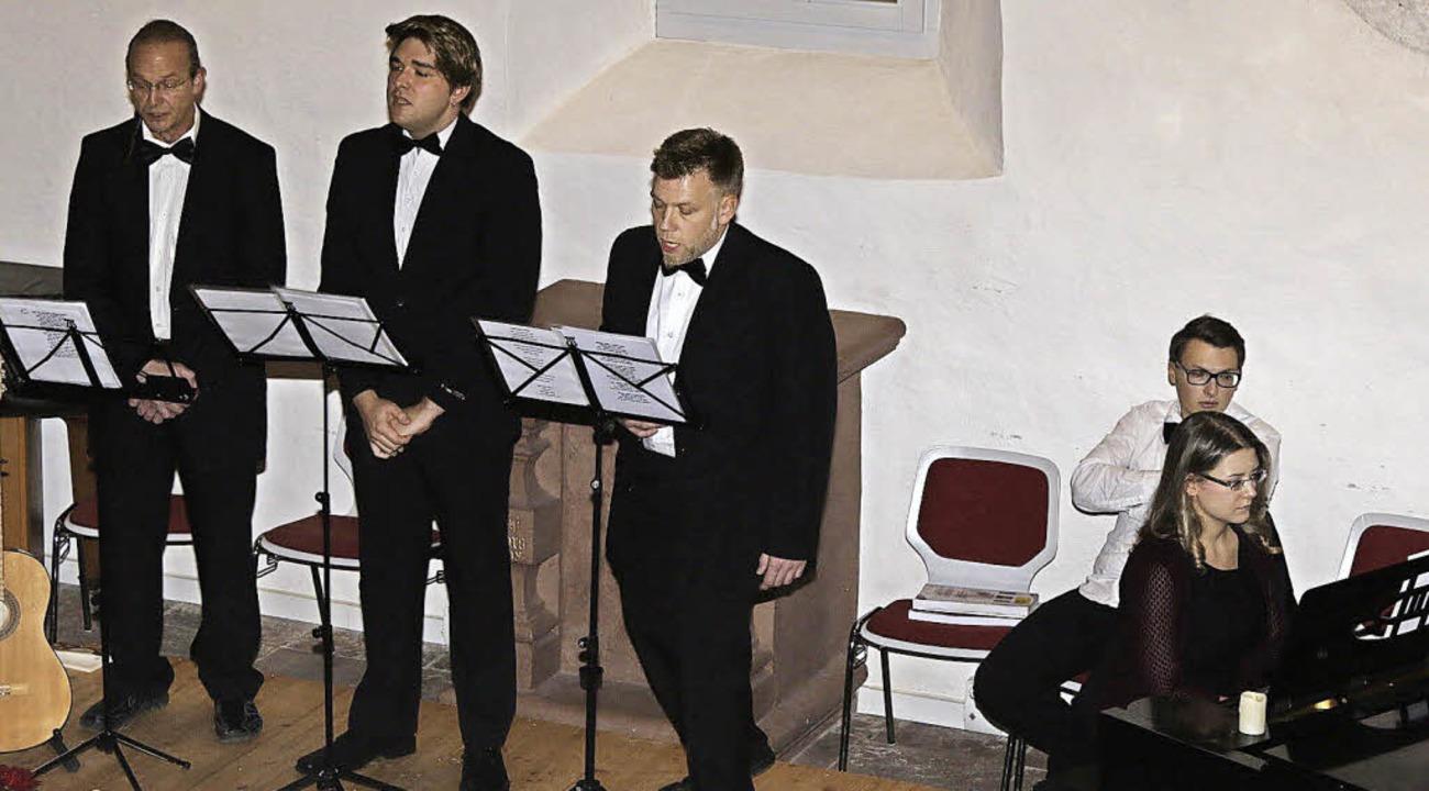 Begeisterten wieder einmal ihre Fans &...nder und Lukas Strittmatter am Klavier  | Foto: Hege