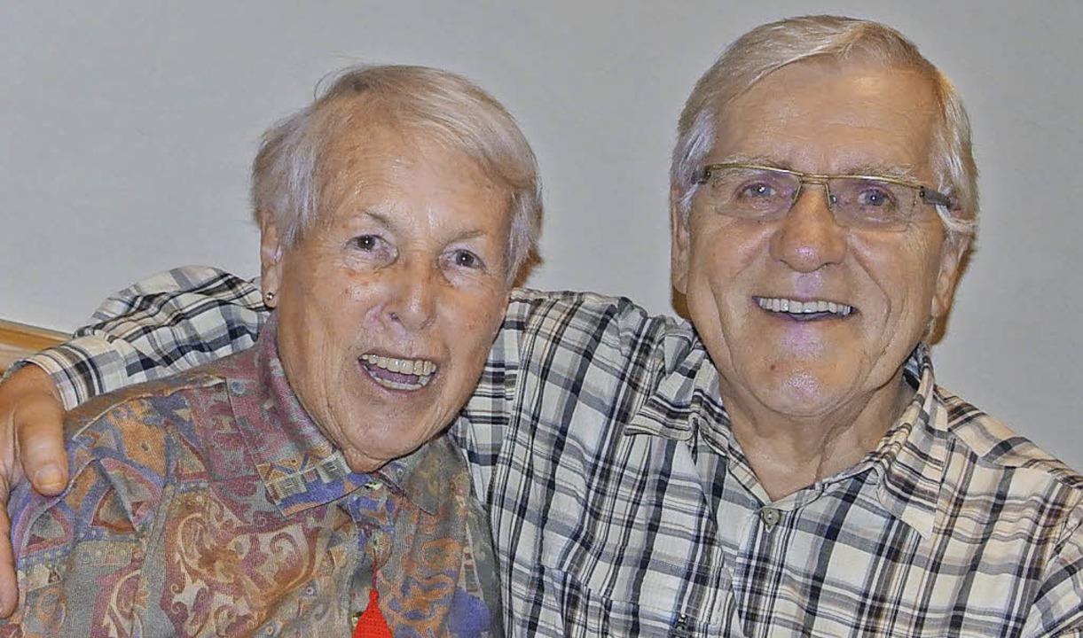 Leni Trenkle und Hans Herdrich    Foto:  karin maier