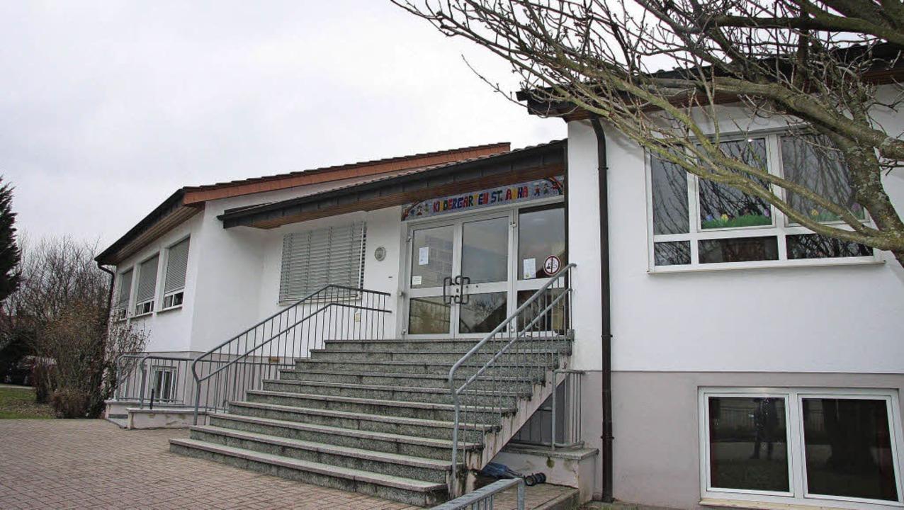 Der Kindergarten St. Anna in Mahlberg ... Spielbereich für die Kinder erhalten.  | Foto: K. Fischer