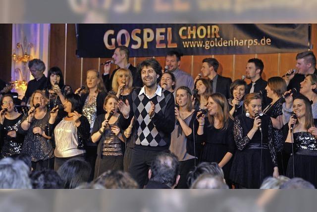 Gospel Harps begeistern beim Benefizkonzert im Colosseo im Europa-Park Rust